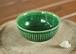 緑釉お茶碗(鎬)