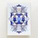 「BLUE OWL」アクリルジークレープリント
