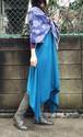 美しくエレガントに体型カバー 当店人気の妖精マキシワンピ