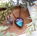 Healing Blue Labradorite Necklace