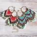 Hoop  Pierce  -Czech Beads-