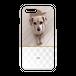 iPhonePlus・Android Lサイズ モコモコハードケース color:ホワイト