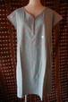 オーガニックコットンカラーブロックプリント・ドレス