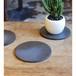 丸陶板黒色