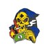 "STRIKE GENTLY ピンバッジ エナメル ""リーパー・ビル"" AJ00577"