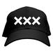 ERICH / XXX LOGO CAP BLACK