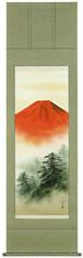 赤富士 川崎光春 尺五立 6133