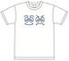ウラオモテンション Tシャツ 白 S