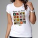 Tシャツ(目玉曼荼羅)