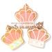 【期間限定セール290円】王冠のアイシングクッキー SHON-PY HEART 結婚式プチギフト
