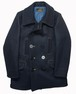 Coat,Men's,NAVY,Double-Beasted (13star Button PeaCoat)/CMAWA01