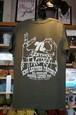 kncハンドサインTシャツ アーミーグリーン