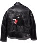"Rakugaki ""BLACK PANTHER"" Embroidery Leather Riders Jacket ~AZI 15th Anniversary~"