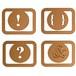 ペーパークリップ Copper 12pcs セット  #124