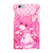 #023-003 iPhone8対応 かわいい系・女の子系・メンヘラ系   《ピンクツインテール》  iPhoneケース・スマホケース 作:ゆう Xperia ARROWS AQUOS Galaxy