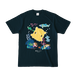 「ポタポンのこもりうた」カラーTシャツ(ダークネイビー)