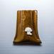 キャバリアがワンポイントの陶器のペンスタンド