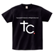 TSUBOMIN / COPYRIGHT T-SHIRT BLACK