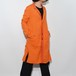 "Leather×Cotton ""Coat"" 〈 Valencia Orange 〉"