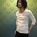 THEE OLD CIRCUS コラボTシャツ(七部袖・ホワイト)