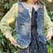 (LOOK) design embroidery vest