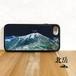北岳 白峰三山 強化ガラス iphone Galaxy スマホケース アウトドア 登山 山