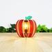 「りんご」木製フロアランプ