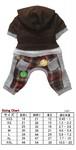 犬服(ドッグウェア)MonkeyDaze Flannel Jumper