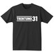 TRENTUNO31  ECO T-shirts S/S Black