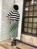 クロッシェタイトスカート