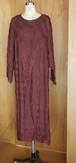 Brown Sheer Dress