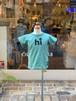 KIDS:NEEDLEWORKS STANDARD【ニードルワークススタンダード】Smile T-shirt(グリーン/80〜150cm)スマイルTシャツ