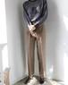 Brown wool pants