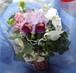 胡蝶蘭とカトレアの花束