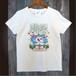 76.Tシャツ(女性M)海風なびくハイビスカス