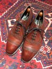 .WILD SMITH LEATHER QUARTER BLOGUE SHOES MADE IN ENGLAND/ワイルドスミスレザークォーターブローグシューズ(パンチドキャップトゥ)2000000031248