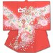 お宮参りお祝い着(初着) 女児 7-404帽子セットプレゼント