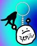 【INKDERICコラボ!】安心ちゃん×シェルミィ ラバーストラップ Aタイプ