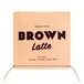 【CD】BROWN Latte Meister by THE BLACK IVY QUINTET (Jazzy Sport)