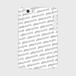 (通販限定)【送料無料】iPhone5/5s/SE_スマホケース ストライプ_ホワイト