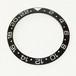 GMT 24hタイプ(黒)セラミックベゼルインサート for SKX007 SKX009 SBZI-GMT24B