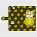 手帳型スマホケース「エキゾチックショートヘアと洋梨」(iPhone6Plus/6sPlus ・iPhone7Plus ・iPhone8Plus ・Android L)