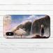 #080-032 iPhoneケース スマホケース iPhoneXS/X おしゃれ ファンタジー Xperia iPhone5/6/6s/7/8 かわいい ノスタルジー GALAXY ARROWS AQUOS タイトル:雲の木 作:星宮あき