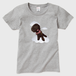 空飛ぶショコラ レディースTシャツ グレー