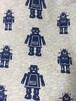smafolk ロボット グレー 長袖シャツ