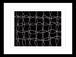 プリント額絵:白戸健作「黒のリズム」