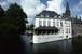 ベルギー ブルージュ 運河沿いのレストラン