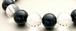 ブラックオニキス&クリスタルクオーツ(10㎜玉)パワーストーン・ブレスレット
