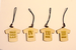 Jリーガーコラボ・木製ユニフォーム型ストラップ / 3選手セット(河合竜二,飯倉大樹,天野貴史)