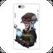#018-002 iPhoneXS/X クール系・ロック系《Secret plan》 カラーホワイト iPhoneケース・スマホケース 全キャリア対応 作:フライ・フローライト(共作) Xperia ARROWS AQUOS Galaxy